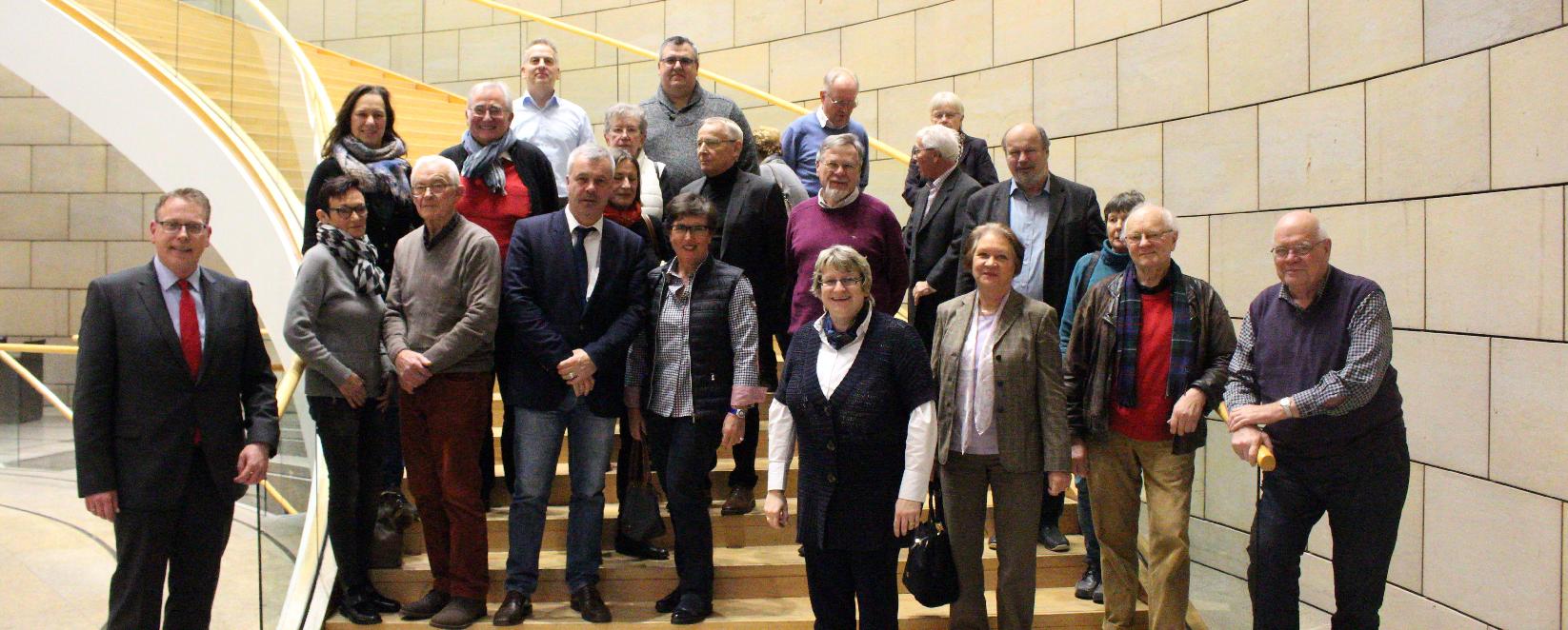 CDU Krefeld zu Gast im Düsseldorfer Landtag