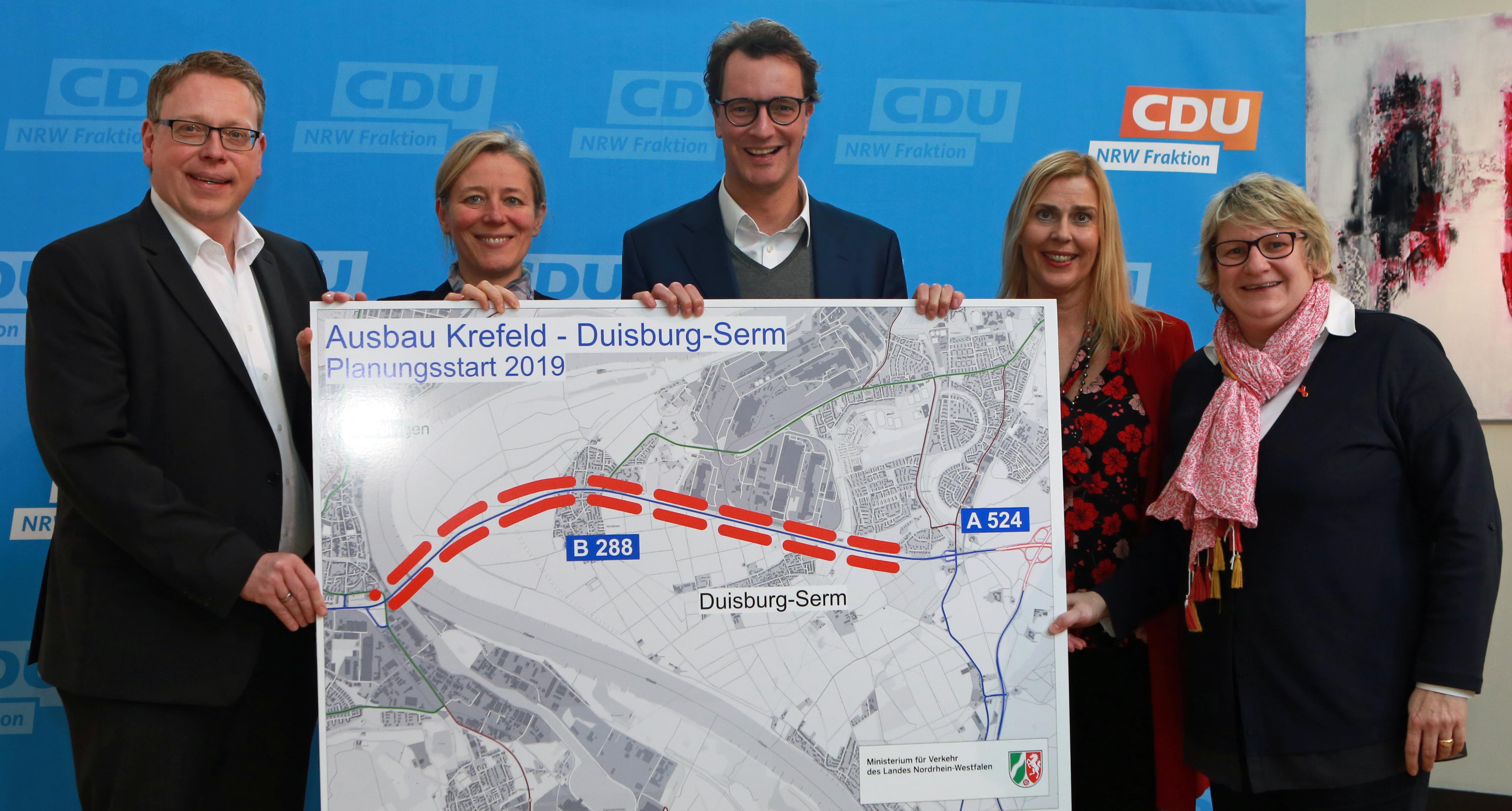 Gute Nachrichten für Krefeld – Verkehrsministerium nimmt Planungen zum Ausbau der B288 wieder auf